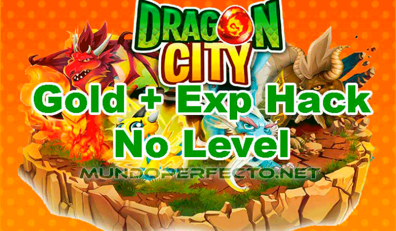 Hack de Oro y Experiencia en Dragon City, No Level requerid